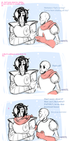 baby it's cold outside by hcrrific