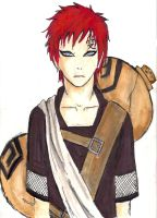 Gaara COLOR by callXmeXcrazy13