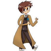 The 10th Doctor by masha44