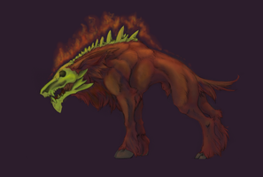 DeathHoundColored by ElysianImagery