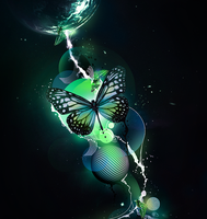 Butterfly Like to Fly by Sasms