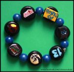 Custom Musicals bracelet VIII by citruscouture