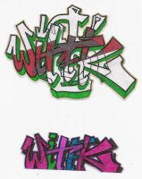 Stickers 65 by VHS-Guri