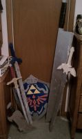 Old Sword Collection by ElizzaBeast