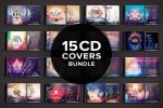 15 CD Covers Bundle by styleWish