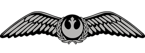 Rebel Alliance Starfighter Pilot Wings #3 by boosh2001