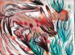 Nine-tailed Fox Demon by heARTistry