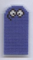 Bloo cross stitch magnet by Lil-Samuu
