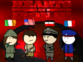 Let's Play Hearts of Iron III - Title by Siontix