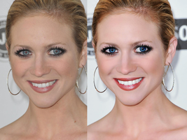 brittany snow retouch by lindsaaaay