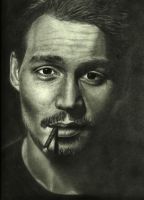 Johnny Depp by angelfalls714