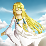 Goddess Hylia by Icy-Snowflakes