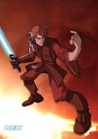 Anakin Skywalker by fizzghigg