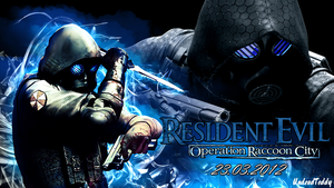 Resident Evil Operation Raccoon City Vector by UndeadTeddy