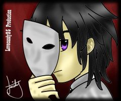 Under The Mask - photoshop by lovecandy95