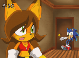 sonic and karla in sonic X? REAL by Karlight-Kera-Gatchi