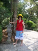 One Piece, Luffy Cosplay by CronaBaby