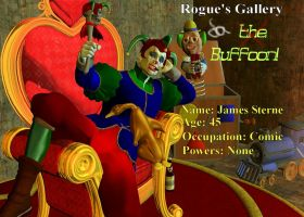 Rogues Gallery: the Buffoon by White0wlsuperheroine