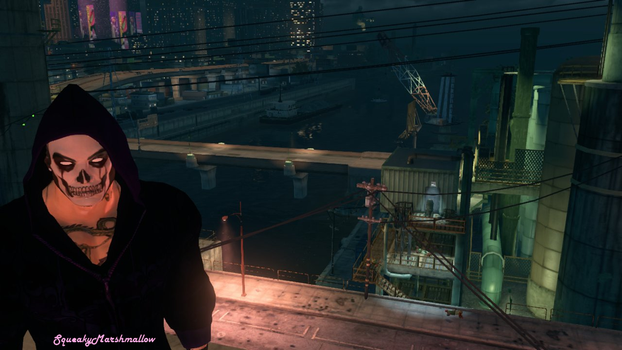 Saints Row 3 On the roof somewhere by SqueakyMarshmallow