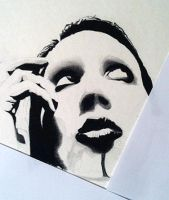 Marilyn Manson by BlackhawksWin76