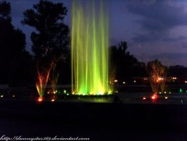 Singing fountains: green beaut by DannyStar369