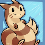Commission: Furret Avy by Latte3000