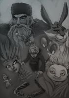 rise of the guardians by Elrad-o