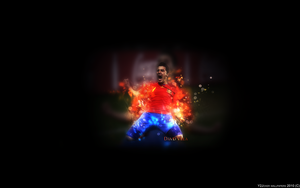 David Villa Wallpaper by Y2Joker