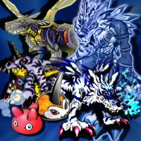 Gabumon Evolution by ChaoticAngel93