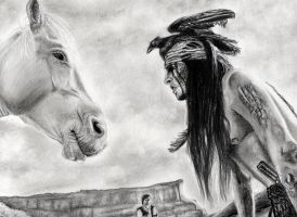 Tonto - The Lone Ranger by marianne481