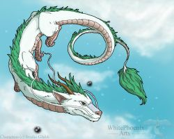 Haku -the White Dragon by WhitePhoenix7