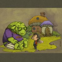 The Kid and the Ogre by KetsuoTategami