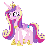 Princess Cadence by mugiwara-mina