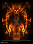 Fire Elemental by raysheaf