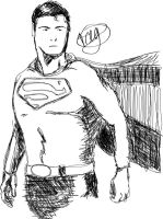 Superman by TeegKetchen