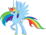 Princess Rainbow by Chimajra