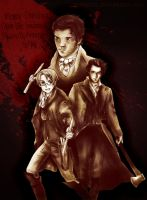 Alfred and Abe: Vampire Hunters by MoPotter