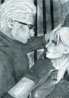 Chris will kill you...Wesker... by Rociiio