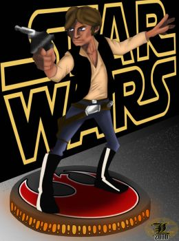 Sci Fi Collection - Han Solo by King8BIT