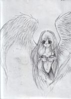 angel manga girl by amfor4