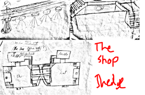 The Shop - Concept Sketches by JaredHedgehog
