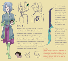 Ebon Spire ref: Esther Cree by Izuma