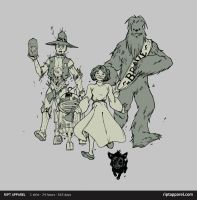 OZ WARS on RIPTapparel by DenisM79