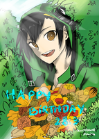 Seto's birthday: Daffodils for you by code-name-327