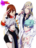 Quartet Night-Render by SaintSeiya-Sanctuary