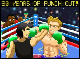 30 Years of Punch Out! by Diegichigo