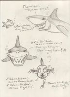 Shark and the Fishy by GillianIvy