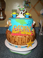 Toy Story Cake by mystiic143