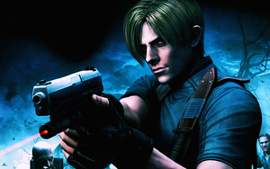 Resident Evil 4 Wallpaper by Catsya