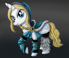 Request: Crystal Maiden Pony by Luminers